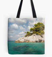 Beautiful landscape from Skopelos Tote Bag