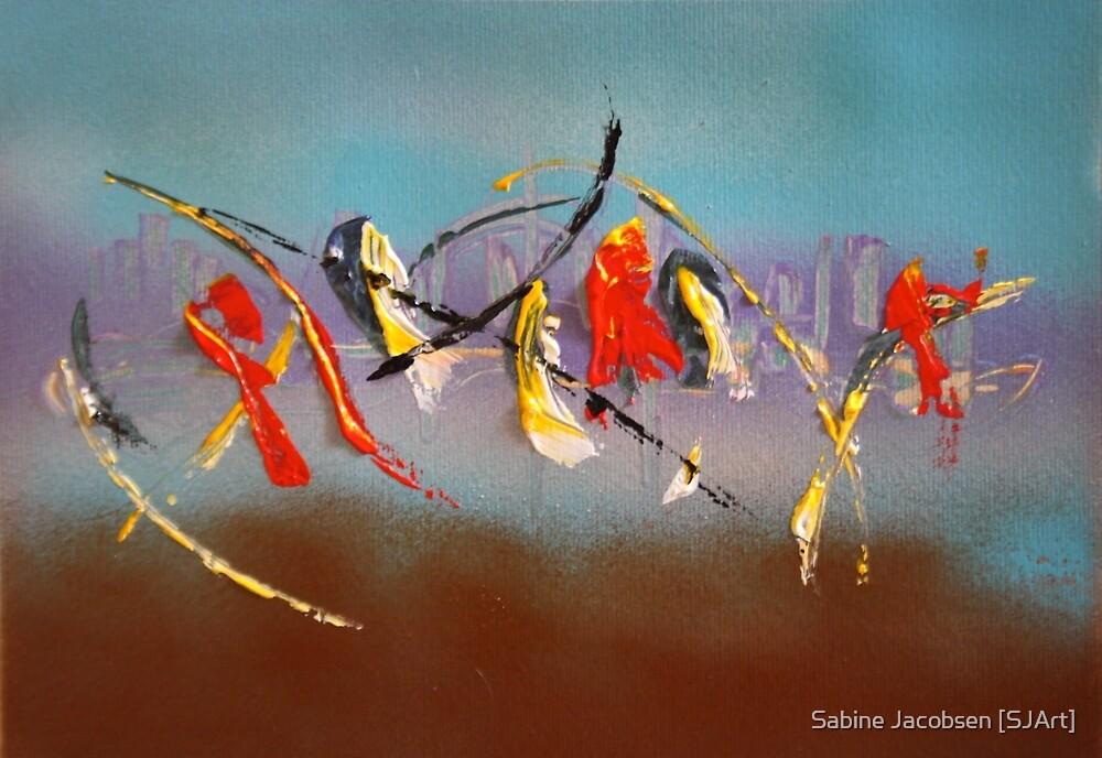 Hidden Skyline by Sabine Jacobsen [SJArt]