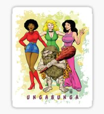 Ungabunga - Saturday Mornings Reimagined... Sticker