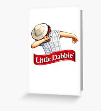 little dabbie Greeting Card