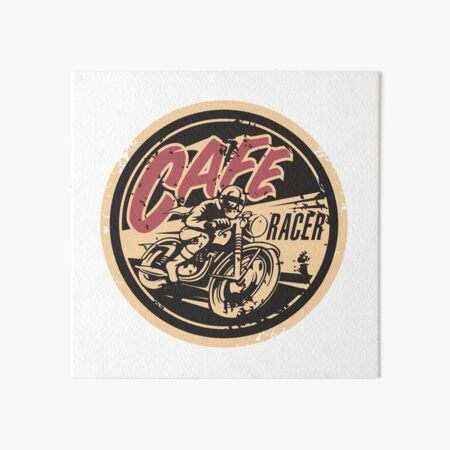 The Official Cafe Racer TV Logo Art Board Print