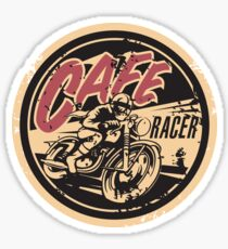 The Official Cafe Racer TV Logo Sticker