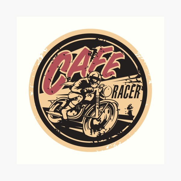 The Official Cafe Racer TV Logo Art Print