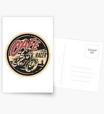 The Official Cafe Racer TV Logo Postcards