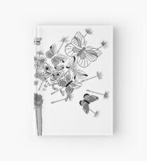 Uhren und Schmetterlinge Notizbuch