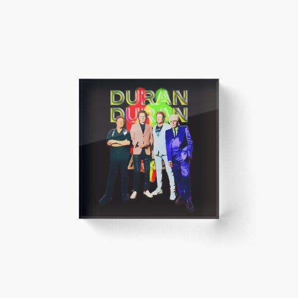 Duran Duran Isle Of Wight _Future Past Acrylic Block
