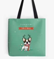 IT'S STARTING TO SMELL LIKE CHRISTMAS Tote Bag