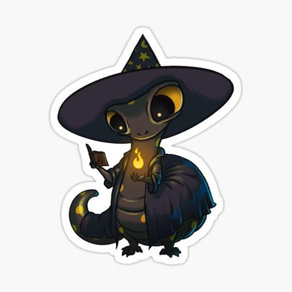 Wizard Salamander Sticker