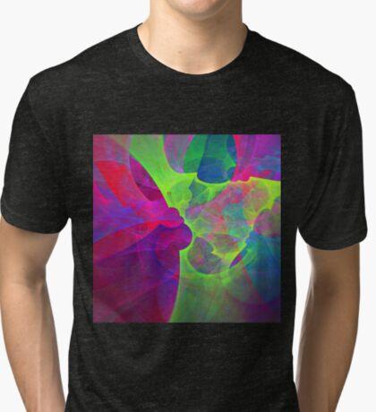 #Fractal Art Tri-blend T-Shirt