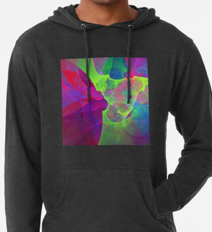 #Fractal Art Lightweight Hoodie