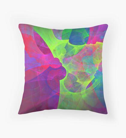 #Fractal Art Throw Pillow