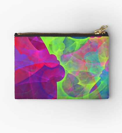 #Fractal Art Zipper Pouch