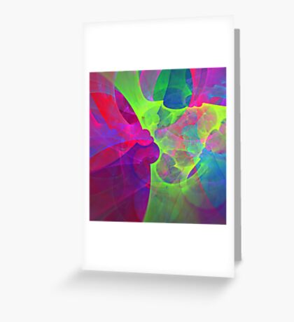 #Fractal Art Greeting Card