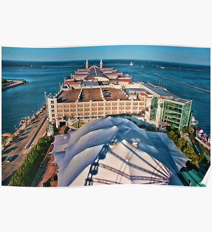 Navy Pier Chicago Poster