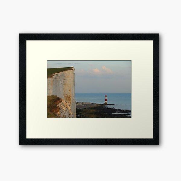 Beachy Head Lighthouse Framed Art Print