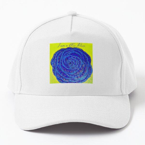 Blue Rose Baseball Cap