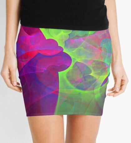 #Fractal Art Mini Skirt