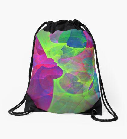 #Fractal Art Drawstring Bag