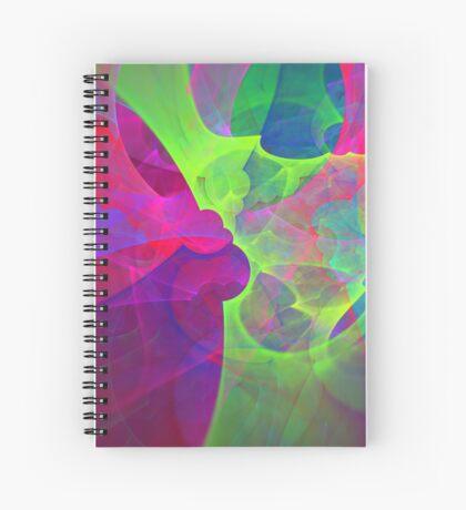 #Fractal Art Spiral Notebook