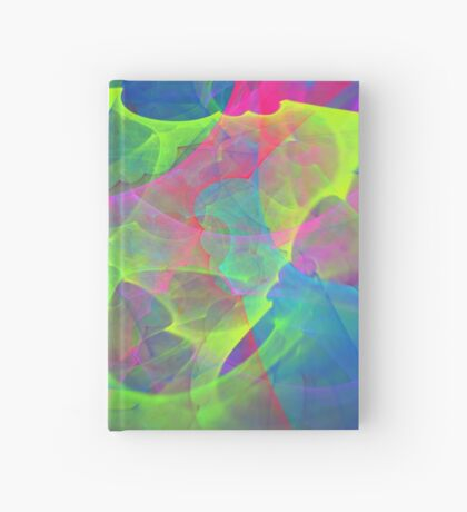#Fractal Art Hardcover Journal