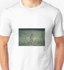 Baby deer urinating Unisex T-Shirt