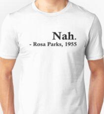 Rosa Parks - Nein. Slim Fit T-Shirt