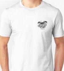 Pair A Dice, Pocket Logo - Black Unisex T-Shirt