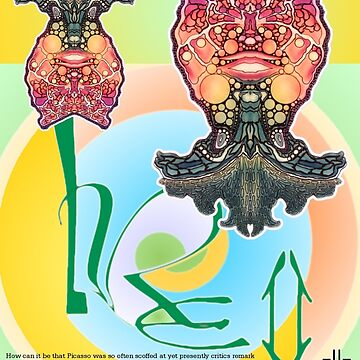 L. R. E. II, Limited Edition, 2009 Commemorative Poster by Leading Upside Down Artist, L. R. Emerson II from the Upside-Down Art Movement; Upsidedownism, Topsy Turvy Art, Ambigram Art, or Masg Art  by emersonl