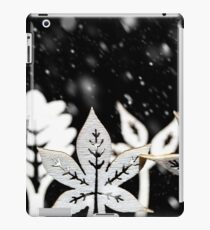Fantasy winter snow scene  iPad Case/Skin