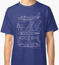 F-86 Concept Blueprint Classic T-Shirt
