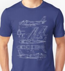 F-86 Concept Blueprint T-Shirt