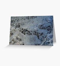Ice wonderland 2 Greeting Card