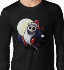 Santa Jack Skellington Long Sleeve T-Shirt