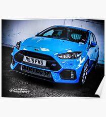 Focus RS Mk3 Poster