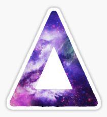 Bastille Triangle Logo (Galaxy Print) Sticker