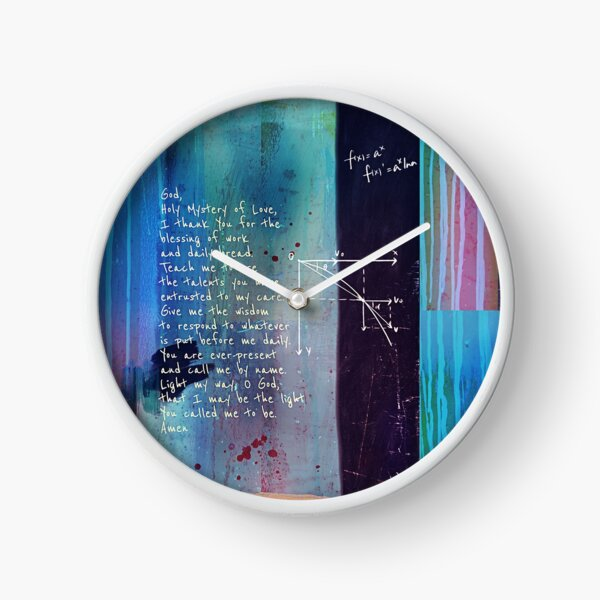 PrayerArtJournal Clock
