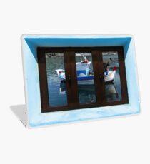 Window Into Greece 7 Laptop Skin