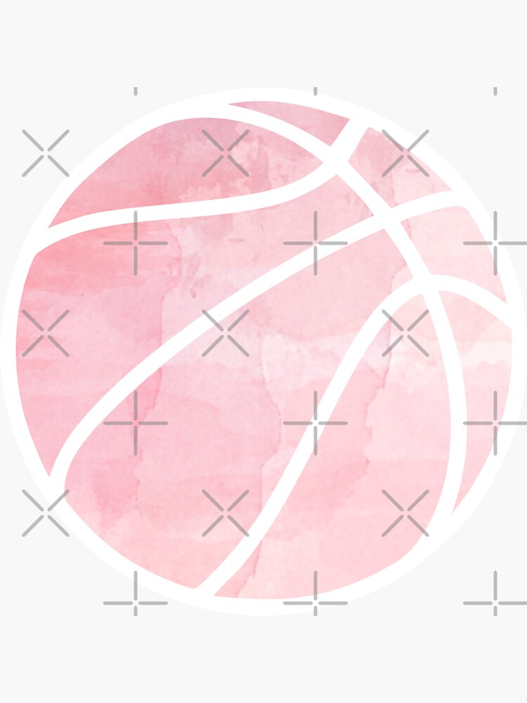 Basketball Pink by hcohen2000