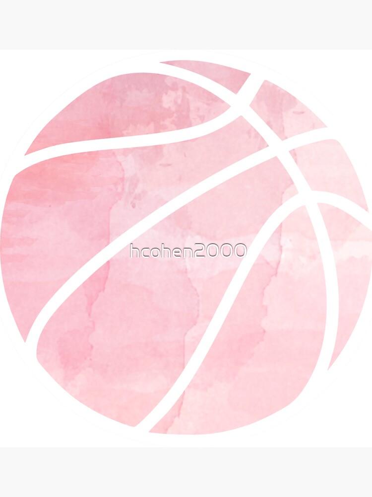 Basketball Rosa von hcohen2000