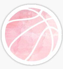 Basketball Rosa Sticker