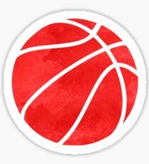 Basketball Red Sticker