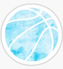 Basketball Blau Sticker