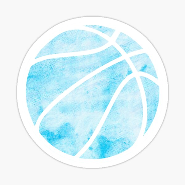 Basketball Blue Sticker
