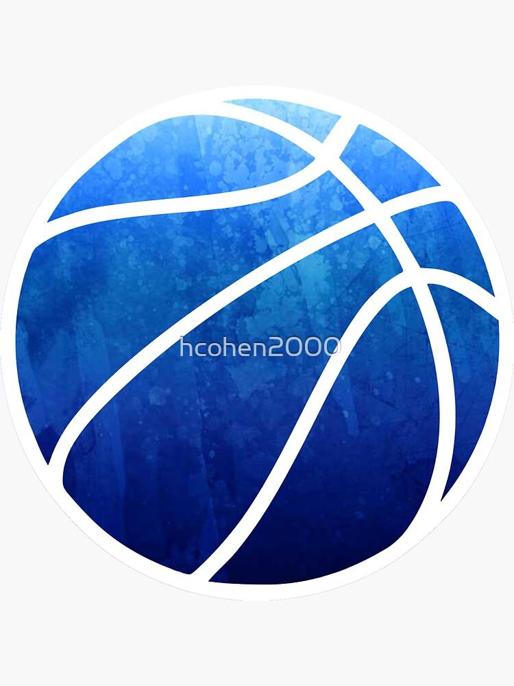 Basketball Dark Blue by hcohen2000
