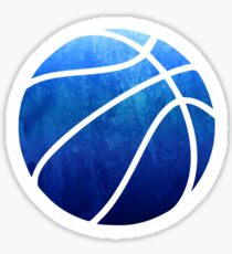 Basketball Dark Blue Sticker