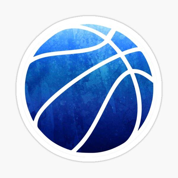 Basketball Dark Blue Sticker