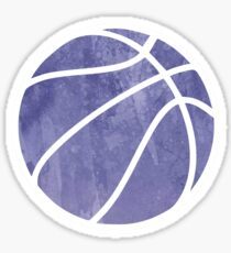 Basketball Purple Sticker