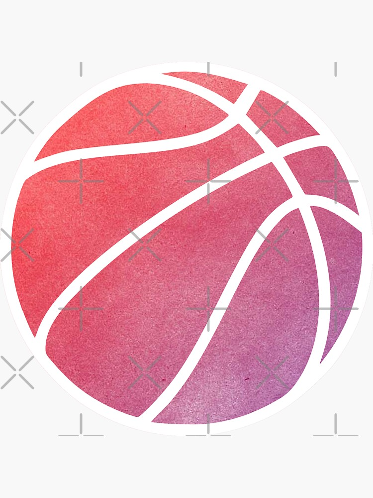 Basketball Multicolored by hcohen2000