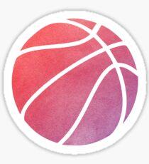 Basketball mehrfarbig Sticker