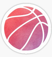 Basketball Multicolored Sticker